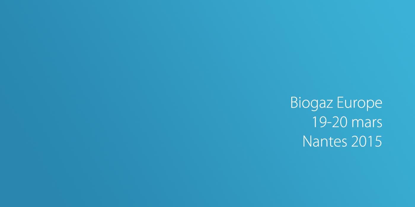 BiogazEurope à Nantes