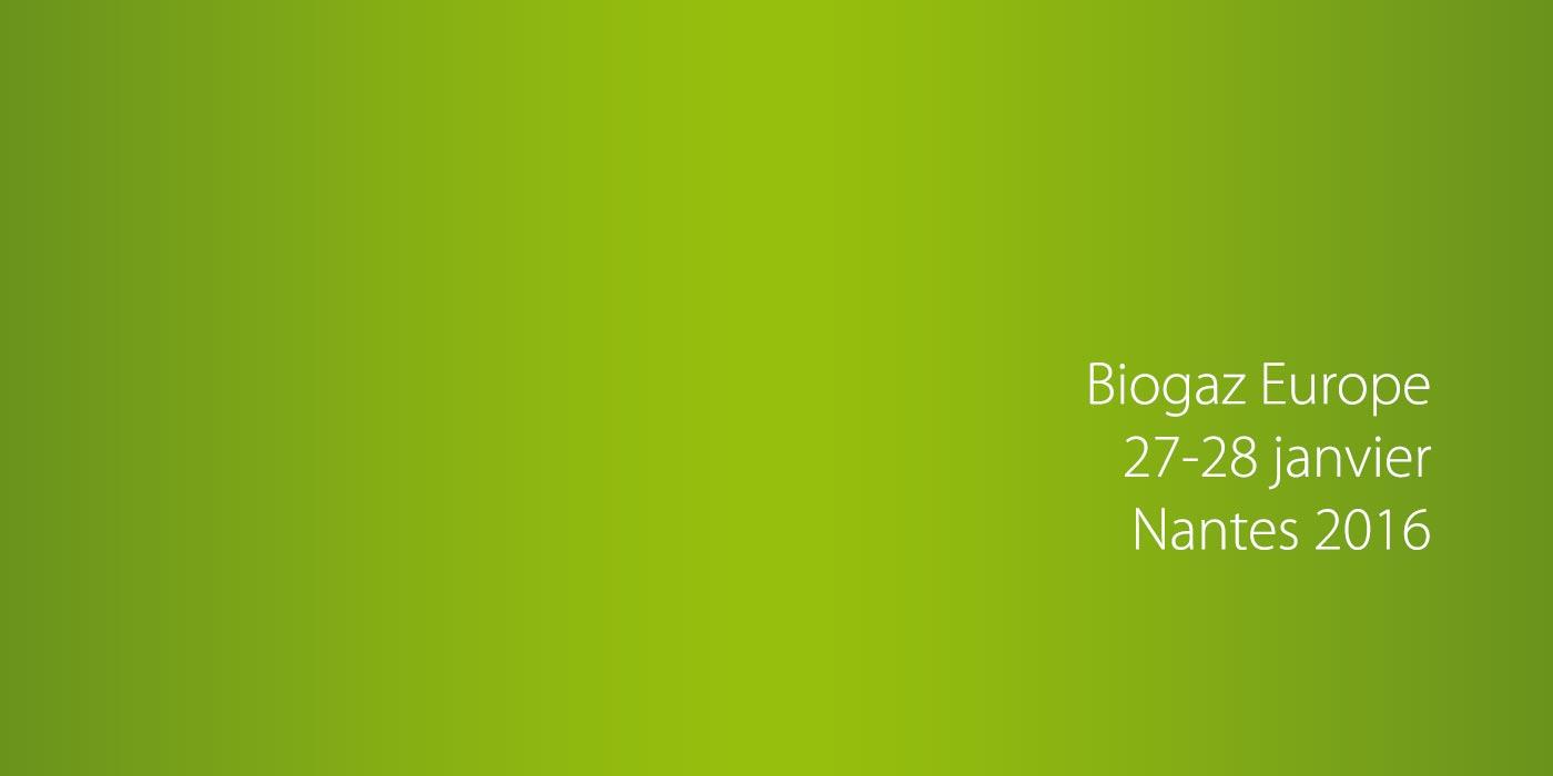 agrogaz france expose au salon Biogaz Europe les 27 et 28 janvier