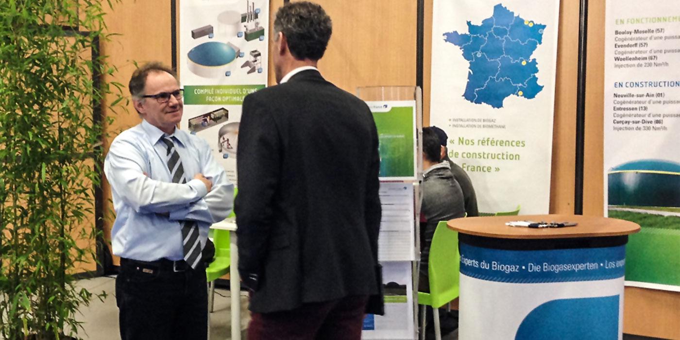 Extraits du Biogaz Europe 2016 à Nantes