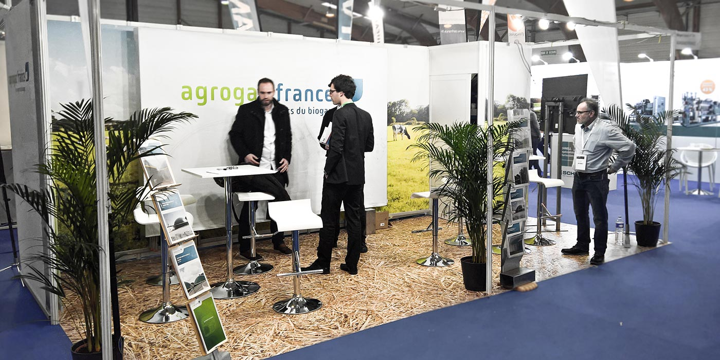 Agrogaz France au Salon Biogaz Europe.